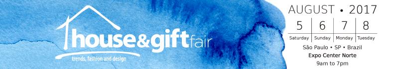 55th House & Gift Fair South America 5 – 8 August 2017 Brazil.