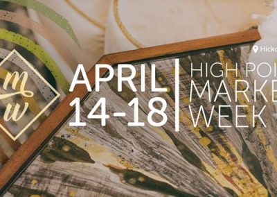 High Point Market Week 14 – 18 April 2018